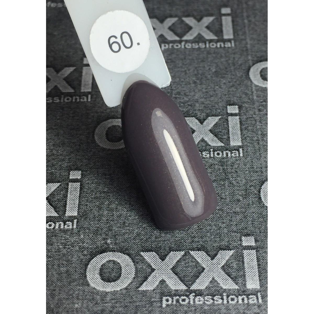 Гель лак oxxi № 60