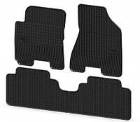 Резиновые ковры Hyundai TUCSON с 2004-2010 / цвет:черный / производитель Frogum