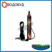 100 м 99 мм 550 Вт QJD1.8-50-0.55 H.World погружной насос для скважины, глубинный, шнековый