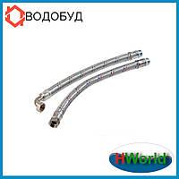 80 см H.World Угловой вибрационный шланг