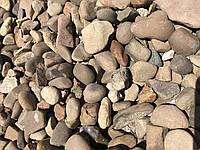 Галька коричневая
