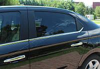 Peugeot 301/Citroen C-Elysee (2012-) Молдинги стекол нижние 6шт