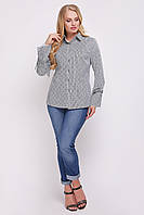 Блуза женская Агата морская, фото 1