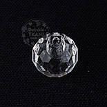 Пуговицы с полированными гранями, круглые, прозрачные 11 мм, П-030, фото 2