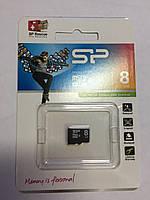 Карта памяти micro sd 8 gb Silicon Power