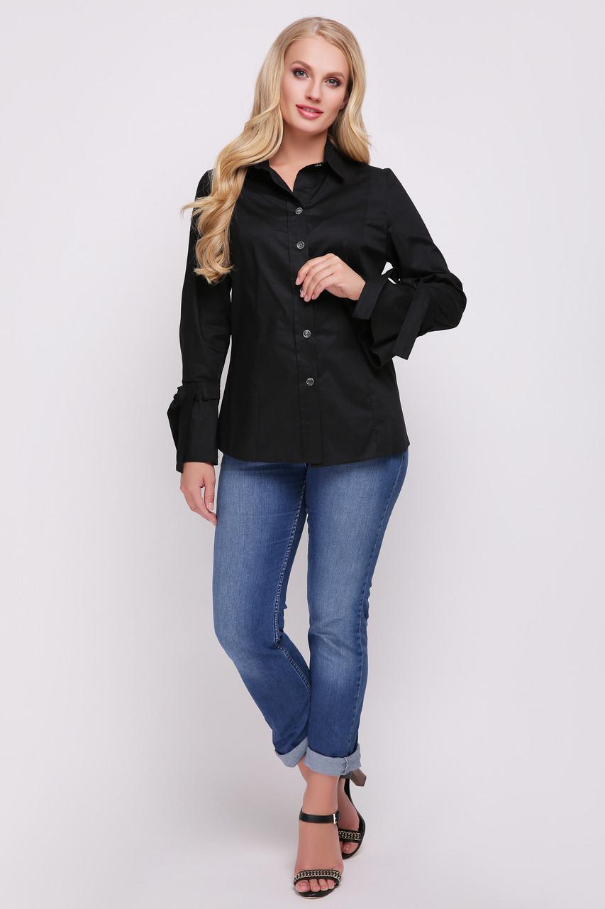 Блуза женская Агата черная