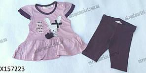 """Летний костюм на девочку (74-98 см) """"Kapitoshka"""" LM-749"""