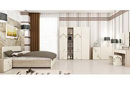 Спальня комплект з ДСП/МДФ Беж комплект 1 Matroluxe