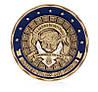 Памятная монета Святой Михаил Архангел защитник полицейских (оберег), фото 2