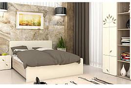 Спальня комплект з ДСП/МДФ Беж комплект 2 Matroluxe