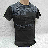 Футболка мужская с эффектом 3D Турция Premium black размер L