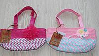 Детские красивые соломенные сумки