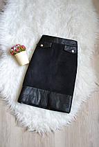 Короткая черная юбка H&M, фото 3