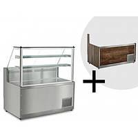 Витрина холодильная  KTHE130-S GGM GASTRO