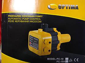 Защита сухого хода c автоматическим перезапуском Optima PC10A, фото 2