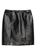 Фактурная юбка под кожу H&M, фото 2
