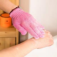 Мочалка перчатка для пилинга