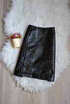 Фактурная юбка под кожу H&M, фото 3