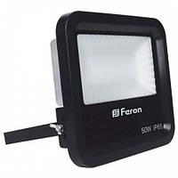 LED прожектор SMD FERON LL-650 50W белый 6400K IP65 4900Lm (225*200*63mm)