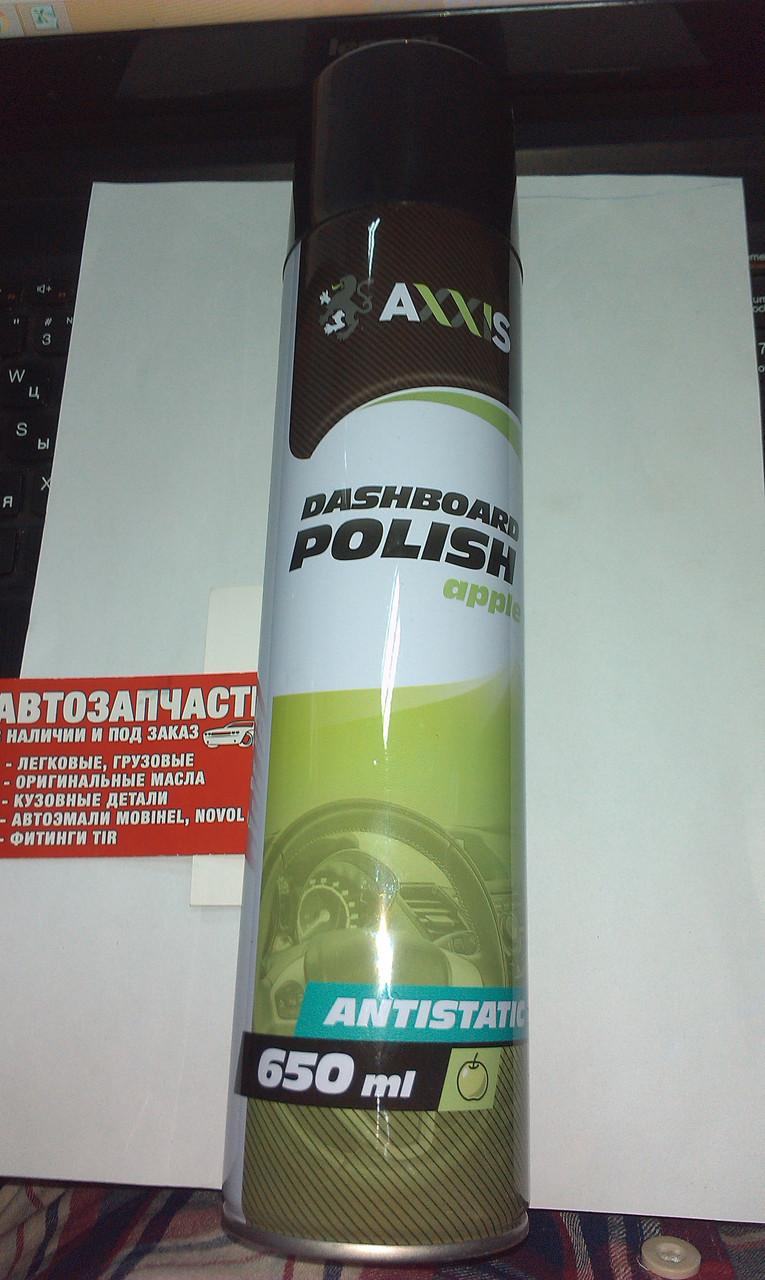 Полироль пластика ЯБЛОКО 650ml AXXIS