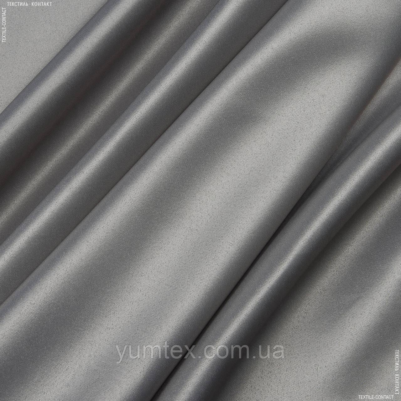 Декоративний атлас корсика сіро-бежевий 143385