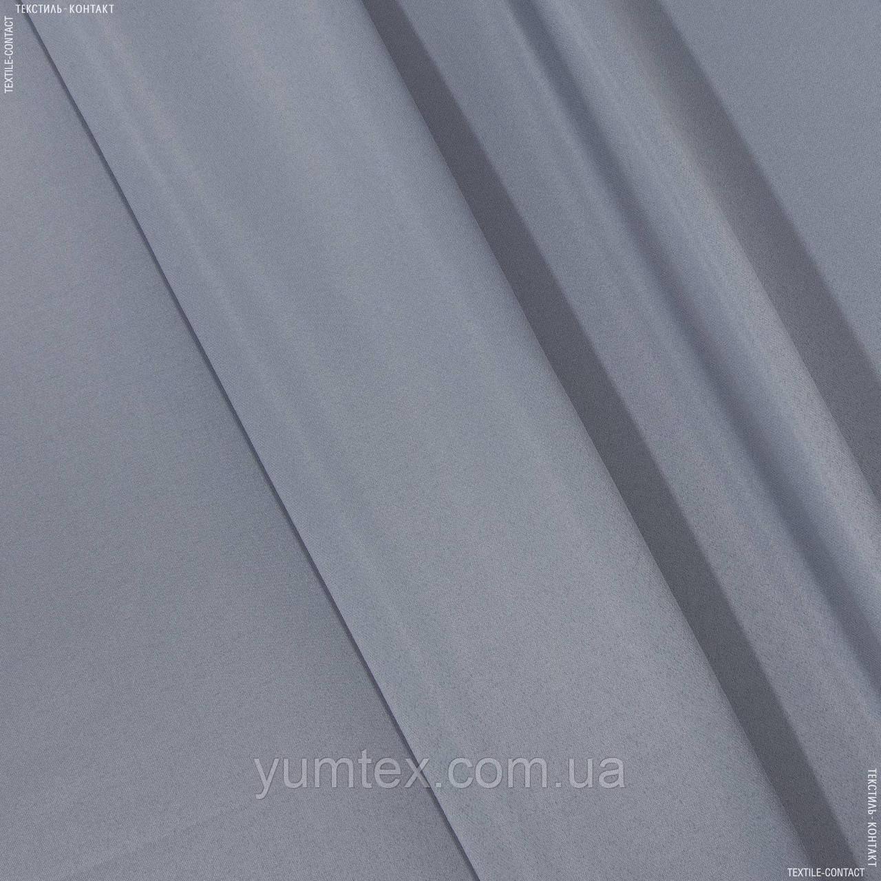 Декоративный атлас корсика серо-стальной 140815