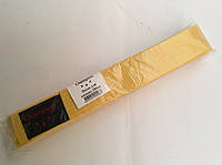 Пояс карате (жовтий) 280см