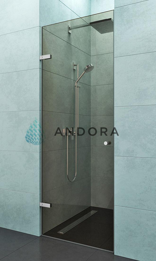 Душевые двери Andora Door 80x200 стекло bronze