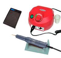 Фрезер для маникюра, комбинированного педикюра Escort 2 Pro красный, 40 000 об/мин с реостатной педалью