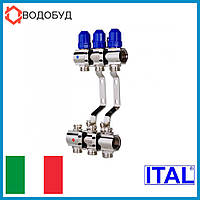 Коллектор для отопления ITAL 3 контура