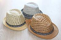 Модные соломенные шляпы для мальчиков