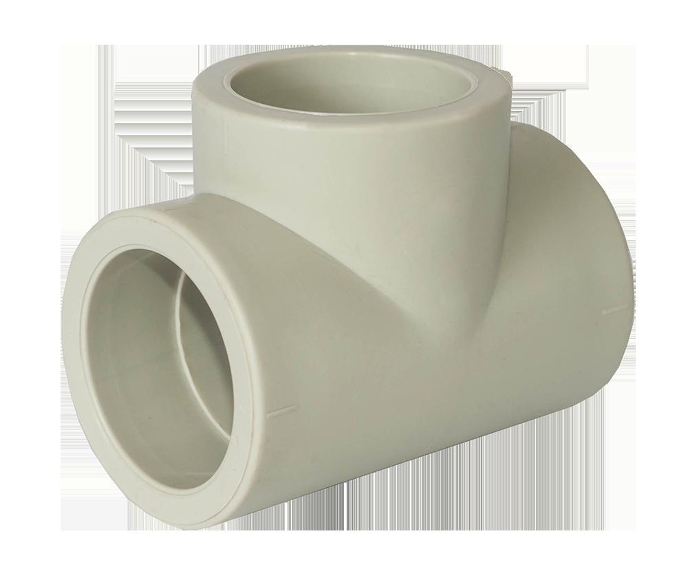 Тройник редукционный 40*32*40 для пайки полипропиленовых труб PPR