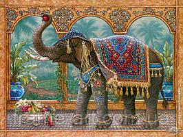 Алмазная вышивка DM-188 Индийский слон 40*50см