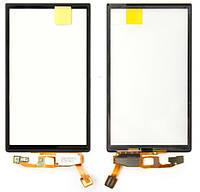 Сенсорный экран Sony Xperia Neo MT15i черный (тачскрин, стекло в сборе)
