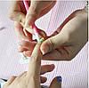Пушер для ногтей с силиконовым наконечником