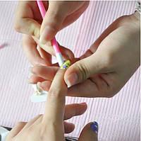 Пушер для ногтей с силиконовым наконечником, фото 1