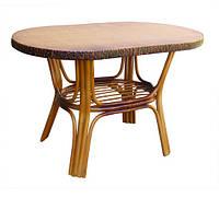 Обеденный столик из ротанга Барселона ЧФЛИ 720х1200х750 мм