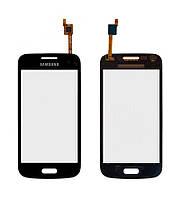 Оригинальный сенсорный экран Samsung G350E Galaxy Star Advance черный (тачскрин, стекло в сборе)