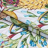 Декоративна тканина лонета пинас/pinas ананаси жовтий,зелений 148842, фото 2
