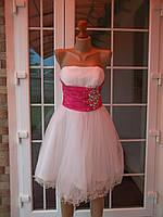 Выпускное шикарное платье (S-44р)