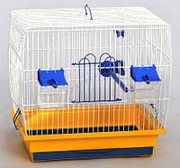 Клетка для канареек Канар (330х230х310) Птицы, цинк, Лори, Украина, Прямоугольная