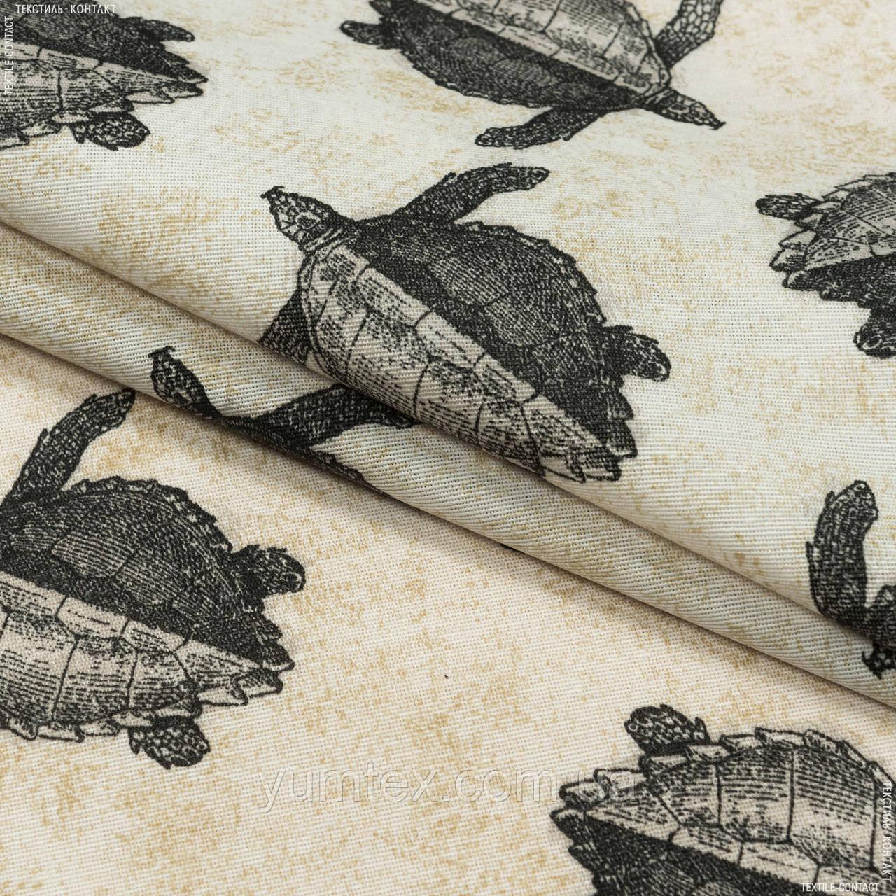 Декоративная ткань  лонета тортугас/tortugas  /черепашки 148889