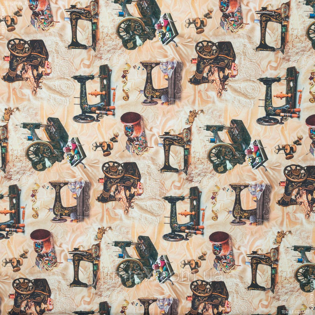 Декоративна тканина костура/costura швейні машинки 148892