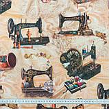Декоративна тканина костура/costura швейні машинки 148892, фото 3