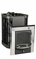 Дровяная печь для бани и сауны KASTOR SAGA 20 KSIL (выносная топка каминного типа), фото 1