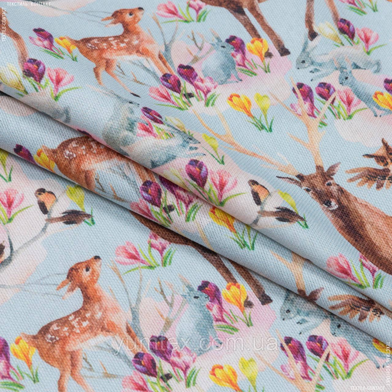 Декоративная ткань  бемби/bambi  олени 148893
