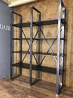Купить металлический стеллаж лофт производство в Херсоне