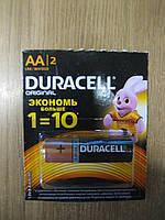 Батарейка Alkaline LR6 (Duracell) AA