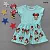 Літнє плаття Minnie Mouse для дівчинки. Маломерит. 86-92 см