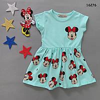 Літнє плаття Minnie Mouse для дівчинки. Маломерит. 86-92 см, фото 1